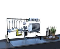 Cozinha Modular Autosustentável Escorredor Louças E Talheres - Dicarlo