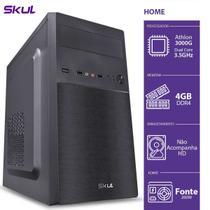 Cpu  athlon dual core 3000g 3.5ghz 4gb ddr4 - Skul