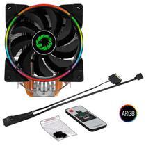 Cpu Cooler Argb Gamemax Gamma 500 +controle Remoto -