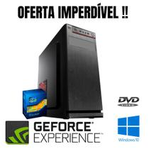Cpu Core i5 4gb Ram SSd 240gb Win10 Leitor DVD Nvidia 1gb !! - Star