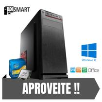 Cpu Desktop Core i3 4gb 500gb de Hd Windows 10 Pró Wi-Fí !! - Star