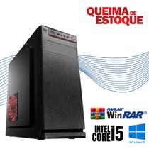 Cpu Desktop Core i5 4gb Hd 500 Dvd - Rw Windows 10 Pró Wifi! - Star