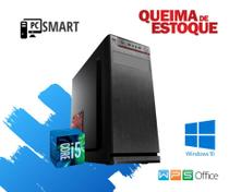 Cpu Desktop Core i5 8gb 480gb de SSd Win10 Pró Aproveite !! - Star