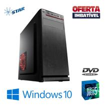 Cpu Desktop i5 4gb SSd 240gb Windows 10 OEM - Dvd - Rw. - Star