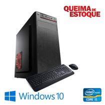 Cpu Desktop Intel Core i5 4gb 120gb de SSd Windows 10 Pró - Star