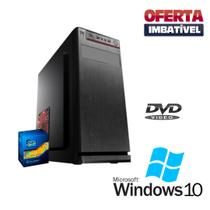 Cpu Desktop Montada Core i5 4gb Hd 500gb Win10 DVD, Wifi - Star