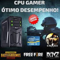 Cpu Gamer i5 8gb Ddr3 Hd500 Fonte 500w Win.7 Pró + Vídeo 2gb - Star