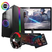 Cpu Gamer Imperiums + Kit Gamer Para Jogos -