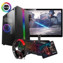 Cpu Gamer + Monitor19 Amd A4 7300/ 500gb/ 16gb/ Hd 8470d - Imperiums
