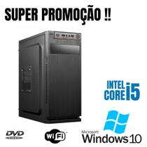 Cpu i5 8gb Ram DDR3 SSd 240gb Windows 10 Pró OEM DVD. - Star