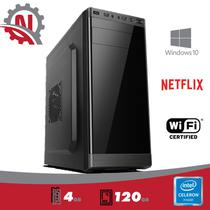 Cpu intel celeron 4gb, ssd 120gb, windows 10 profissional 2019 com wi-fi - 5Tech