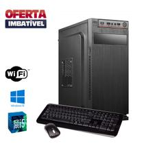 Cpu Montada Intel Core i5 8gb Ram Hd 500gb Windows 10 Pró - Star