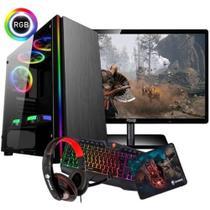 Cpu Pc Gamer Amd A10 9700 + 8gb + Gtx 1050 4gb Ti - Imperiums