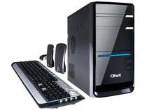 CPU Qbex I34G640GBLX1GB c/ Intel Core i3 - 4GB 640GB Grava DVD