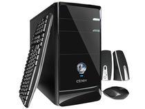 CPU Qbex UDP Atlas Gold c/ AMD C60 - 4GB 750GB Grava DVD
