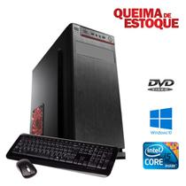 CPU STAR - Com Leitor de DVD - Core i5 8gb, Hd 500gb, Win10.