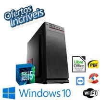 Cpu Torre Core i5 8gb Hd 1tb Win10 Pró OEM - Gravador de DVD - Star