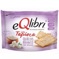 Cracker Eqlibri Tapioca Queijo Branco e Orégano 45g - Elma Chips -