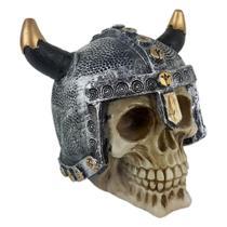 Crânio Caveira soldado Viking medieval capacete Grande. - Shop Everest
