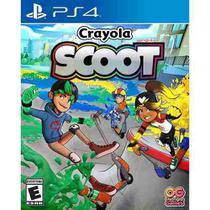 Crayola Scoot Ps4 Midia Fisica -