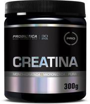 Creatina Monohidratada E Micronizada Pura 300g - Probiotica - Integralmédica