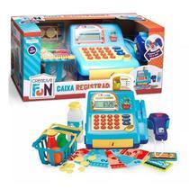 Creative Fun Caixa Registradora Azul - Multikids