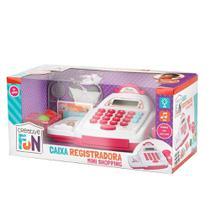 Creative Fun Caixa Registradora Mini Shopping Rosa Multikids - Br1182 -