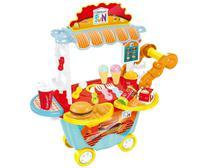 Creative Fun Food Hamburgueria Multikids para + 4 Anos com Acessórios - Multilaser