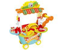 Creative Fun Food Pizzaria Multikids para + 4 Anos com Acessórios - Multilaser