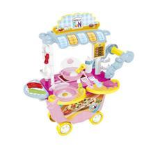 Creative Fun Food Truck Café da Manhã com Acessórios Indicado para maiores de 4 Anos BR1107 Multikids -