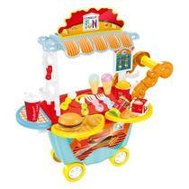 Creative Fun Food Truck Hamburgueria Indicado para +4 Anos Multikids - BR1104 - Multilaser