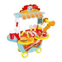Creative Fun Food Truck Hamburgueria Indicado para maiores de 4 Anos BR1104 Multikids -