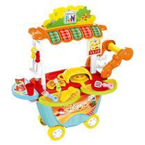 Creative Fun Food Truck Pizzaria com Acessórios Indicado para +4 Anos Multikids - BR1106 - Multilaser