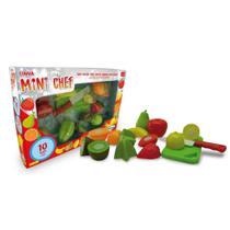 Crec-crec mini chef frutas 10 peças - Xalingo (11549) -
