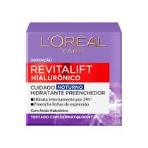 Creme Anti-idade L'Oréal Paris - Revitalift Hialurônico Noturno -