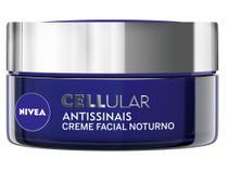 Creme Antissinais Facial Noturno Nivea Cellular - 51g