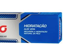 Creme de Barbear Bozzano Aloe Vera - 65g -