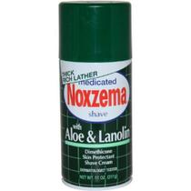 Creme De Barbear Noxzema - Aloe  Lanolin 311g - Espuma de Barbear efeito calmante - 311g -