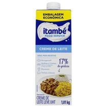 Creme de leite 17% cartonado 1,01kg itambe - Itambé