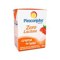 Creme De Leite Piracanjuba 0 Lactose 20% De Gordura 200g -