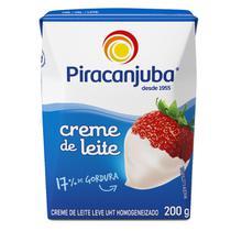 Creme De Leite Piracanjuba 200g - 3un -