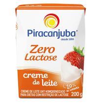 Creme De Leite Piracanjuba Zero Lactose 200g -