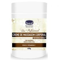 Creme de Massagem Corporal Ideal Coco e Vitamina e - 650g -