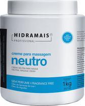 Creme de Massagem Hidramais Neutro Sem Perfume 1Kg - Biocap