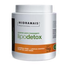 Creme de Massagem Lipo Detox 1kg Hidramais -