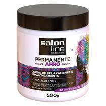 Creme de Relaxamento Permanente Afro Salon Line 500g -