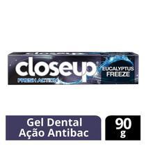 Creme Dental Close Up Fresh Action Eucalyptus Freeze 90g - Close-up