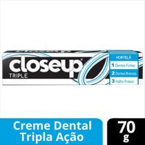 Creme Dental Close Up Triple Hortelã 70g - Close-up