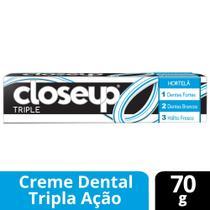 Creme Dental Close Up Triple Hortela 70g -
