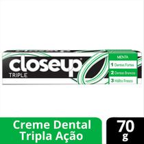 Creme Dental Close Up Triple Menta 70g - Close-up